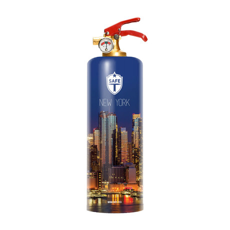 Safe-T Designer Fire Extinguisher // New York