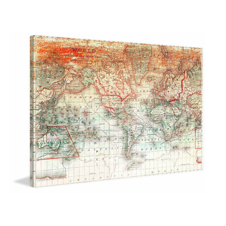 World Map Defined // Canvas