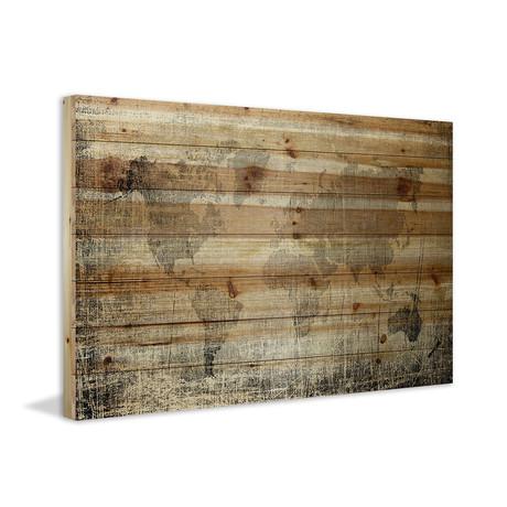 Hidden World // Natural Pine Wood
