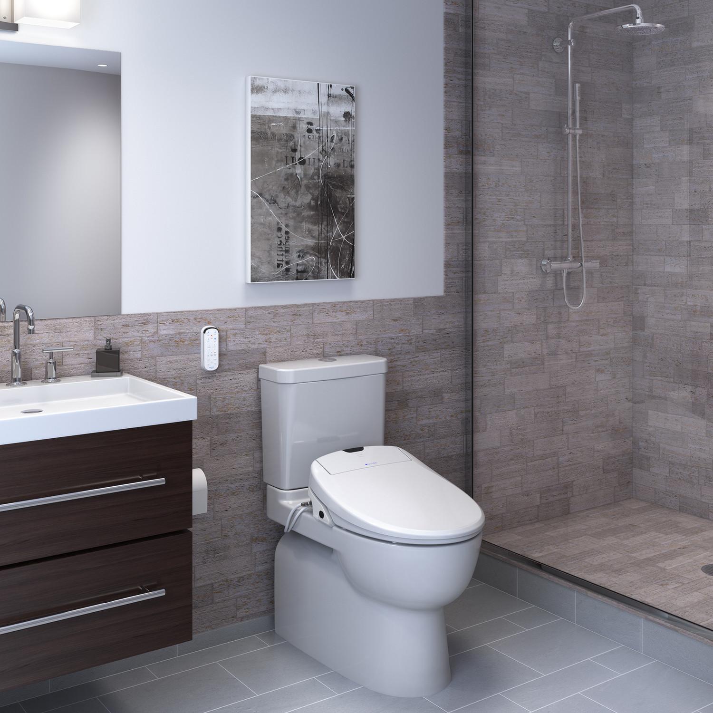 swash 1400 luxury bidet toilet seat brondell touch. Black Bedroom Furniture Sets. Home Design Ideas