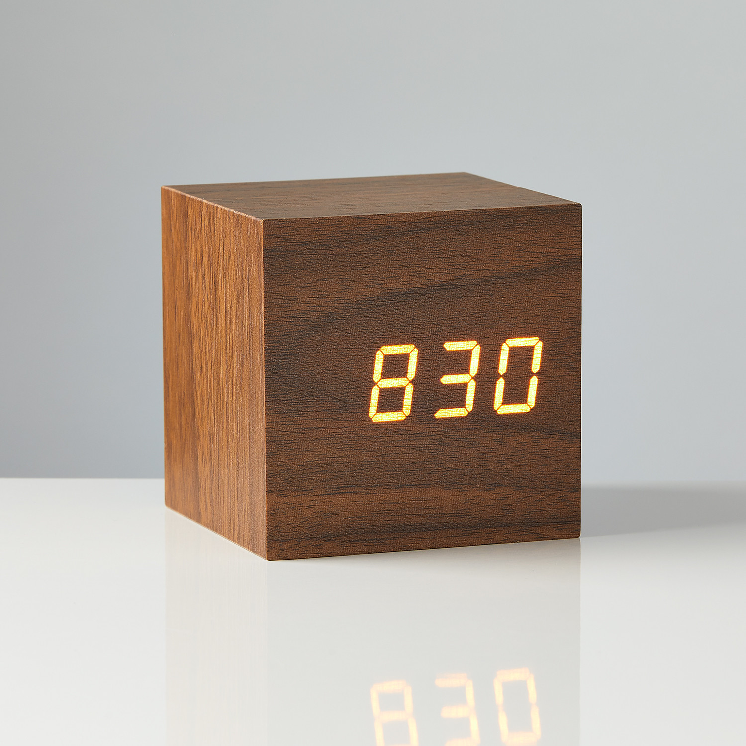 Melting Clock,Block-Type Twisted Clock,Melted Clock for Decorative Home Of W7N7