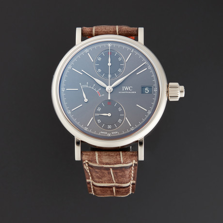 IWC Portofino Monopusher Manual Wind // IW515103 // Store Display