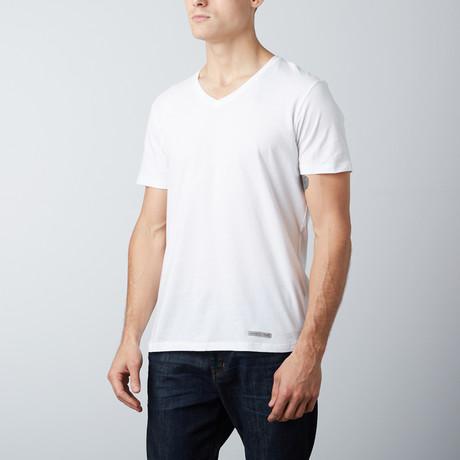 OG White V-Neck T-Shirt // White