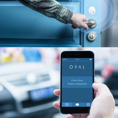OVAL // Complete Sensor System + Flood Detector