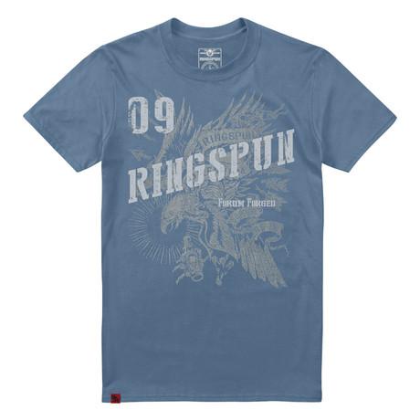Eagle T-Shirt // Indigo
