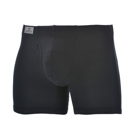 Sheath 3.21 // Dual Pouch Fly Underwear // Black (Small)