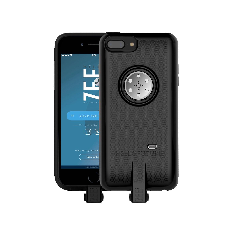 quality design e5505 1b14e Zee Core Smart Case // Black (iPhone 6/6s/7/8) - Hello Zee - Touch ...
