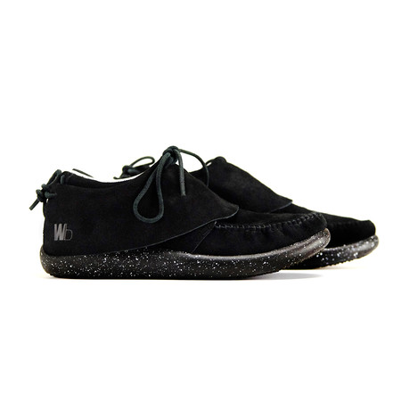 Hemera Skirt Sneaker // Black + Spec Black (US: 7)