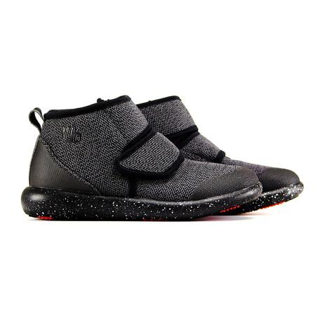 Lees Knit Strap Sneaker // Grey + Black (US: 6)
