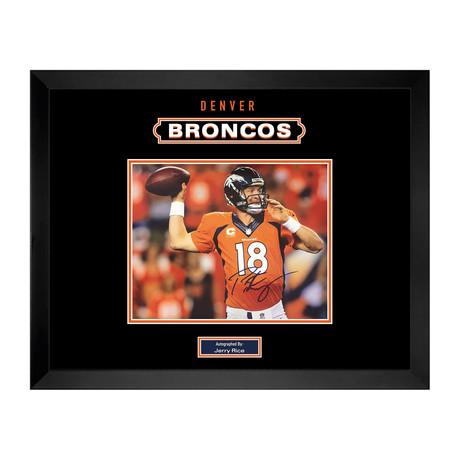 Signed + Framed Photo // Peyton Manning
