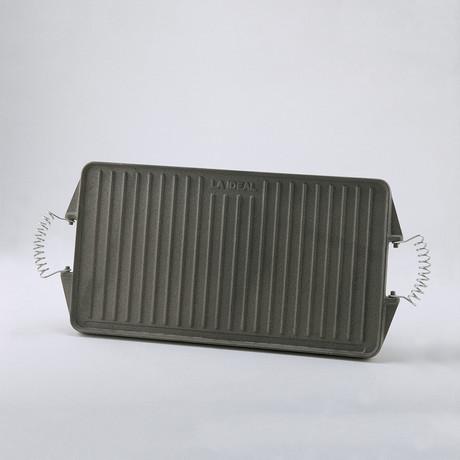 Rectangular Cast Iron Griddle
