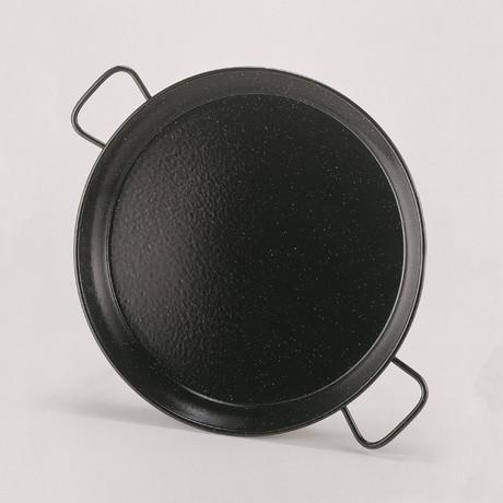 Enamelled Paella Pan