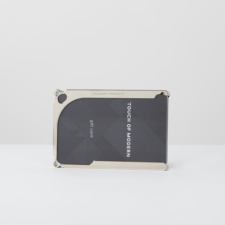 DM1: 8-Card Nickel Wallet