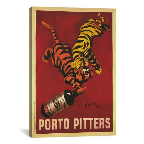"""Porto Pitters (Vintage) // Leonetto Cappiello (12""""W x 18""""H x 0.75""""D)"""