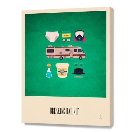 "The Breaking Bad Kit (10""H x 8""W x 0.75""D)"