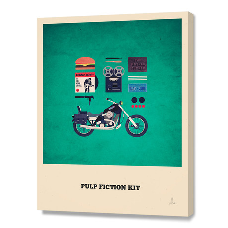 Pulp Fiction Kit // Stretched Canvas