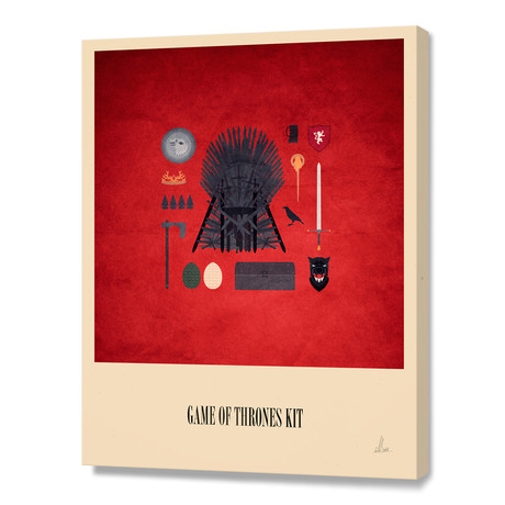 Game Of Thrones Kit // Stretched Canvas