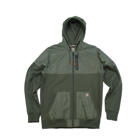 Traveler Hoodie // Military Green