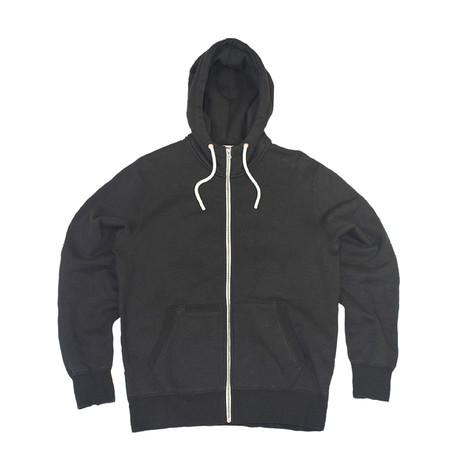 Everyday Zip Hoodie // Black