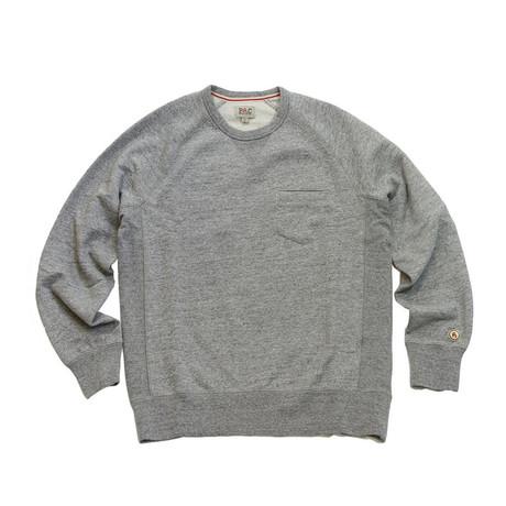 Everyday Crewneck Sweater // Heather Grey