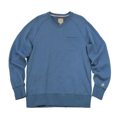 Country Club V-Neck Sweater // Sail Blue