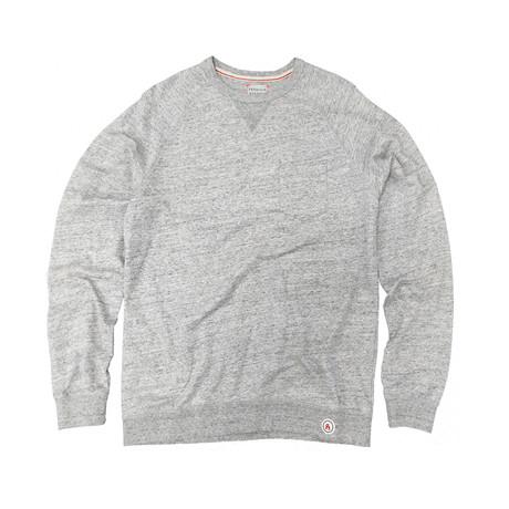 Saturday Crewneck Sweater // Heather Grey