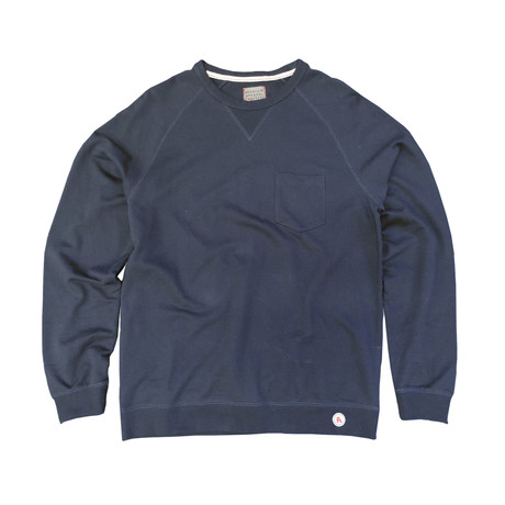 Saturday Crewneck Sweater // Navy