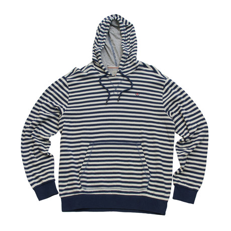 Crafter Hoodie // Old White + Navy