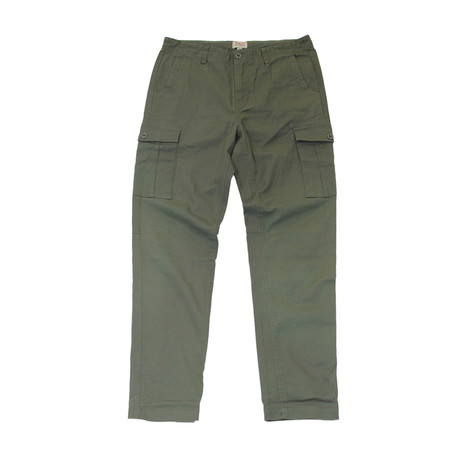 New Issue Pant // Military Green