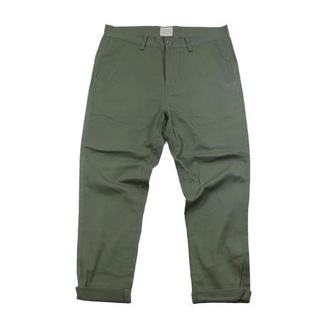 Commander Chino Pants // Military Green