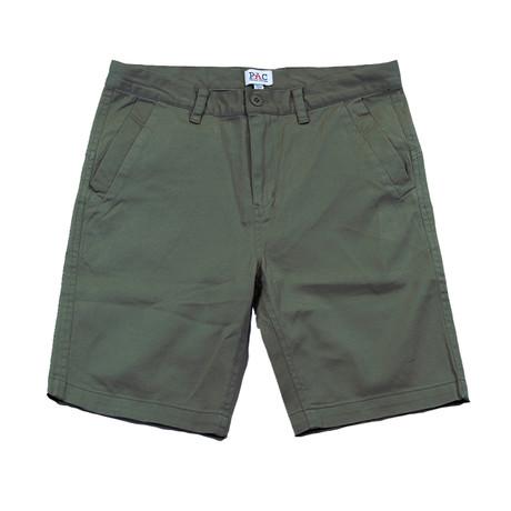 Commander Shorts // Military Green