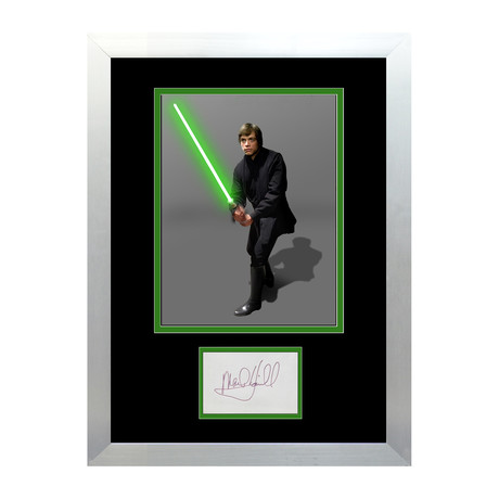 Mark Hamill // Signed Autograph Display