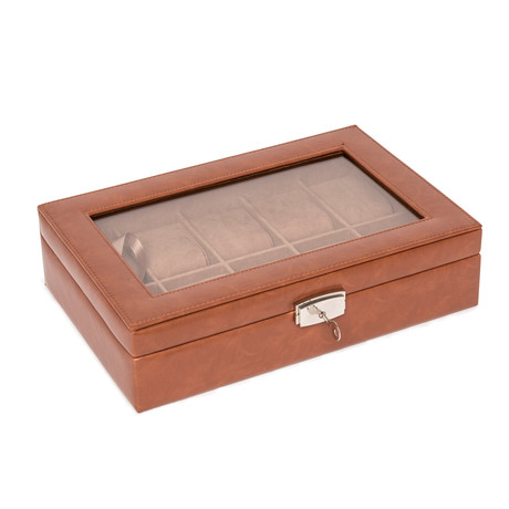 Watch Box // 10 Slots (Lizard Gray)