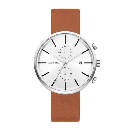 Jacon Jensen Date Linear Chronograph Quartz // 622