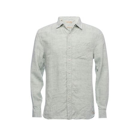 Truman Square Pocket Shirt // Light Green (XS)