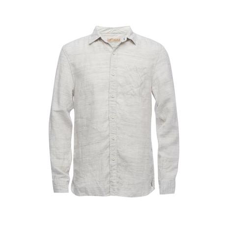 Truman Square Pocket Shirt // Off White (XS)