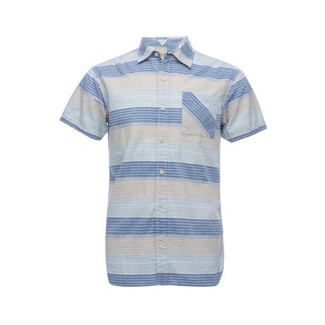 Truman Square Pocket Shirt // Blue (XS)