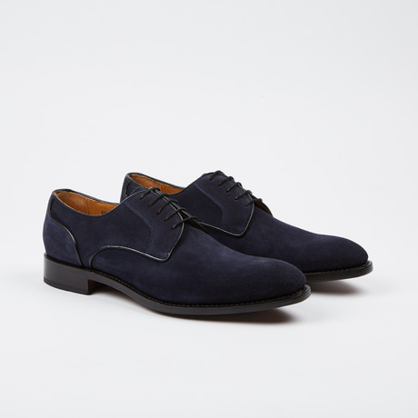 Clark Plain Toe Derby // Dark Blue (US: 7)