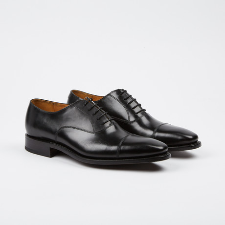 Thomas Cap-Toe Oxford // Black (US: 7)