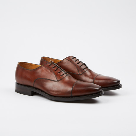 Thomas Cap-Toe Oxford // Light Brown (US: 7)