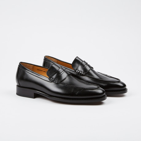 Albert Penny Loafer // Black (US: 7)