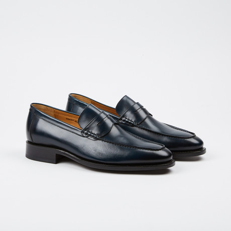 Albert Penny Loafer // Navy (US: 7)