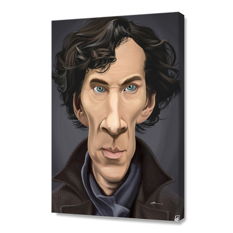 Celebrity Sunday: Benedict Cumberbatch // Stretched Canvas
