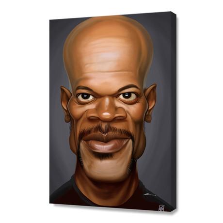 Celebrity Sunday: Samuel L Jackson // Stretched Canvas