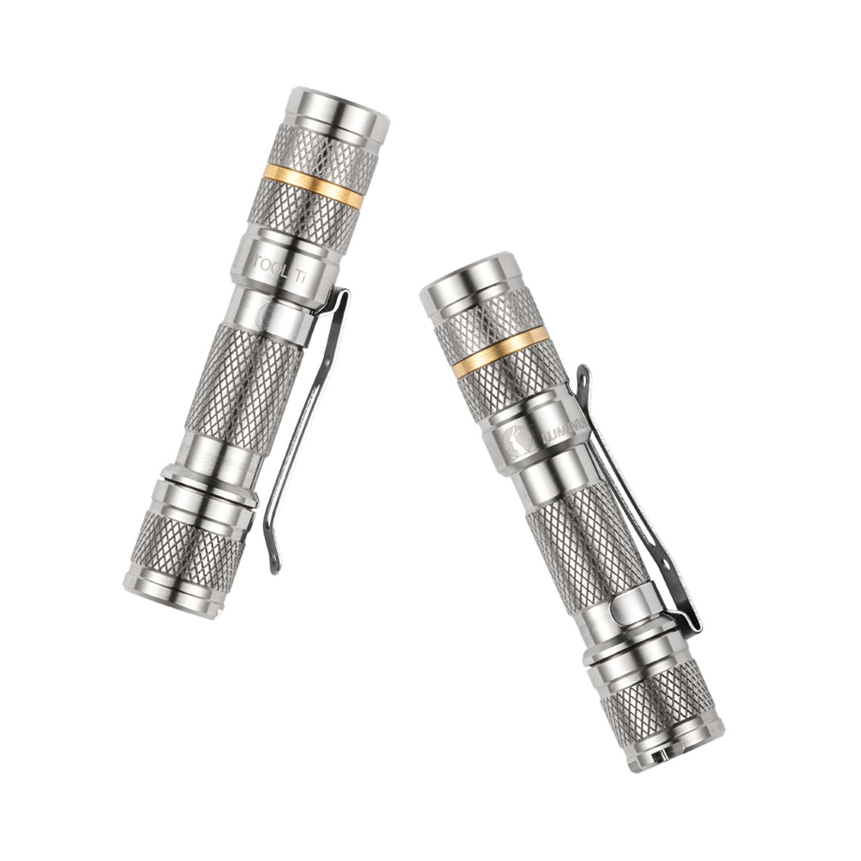 tool ti      silver  nichia 219b led  - lumintop
