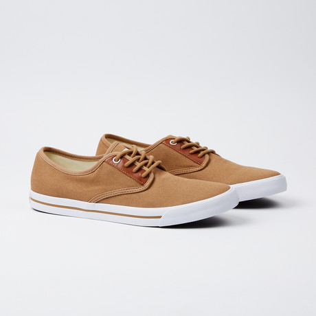 Toe Hugger Sneaker // Brown
