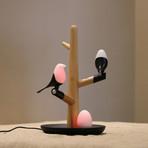 Maglamp (Beech // 2 Birds + 1 Egg)