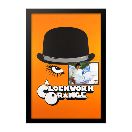 Signed Movie Poster // A Clockwork Orange