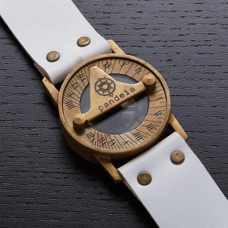Pandeia Bone Sundial Wrist Watch // PTM-B