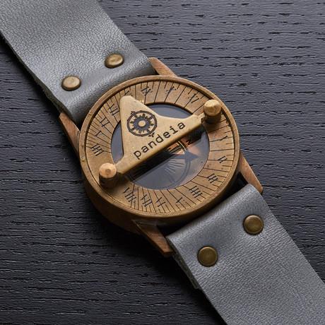 Pandeia Stone Sundial Wrist Watch // PTM-S